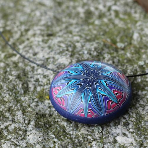 Modrá hvězda - náhrdelník