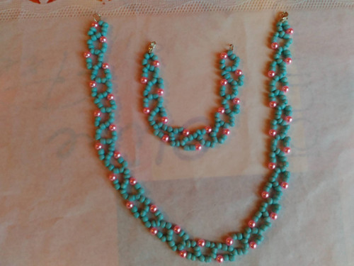 Náramek + náhrdelník