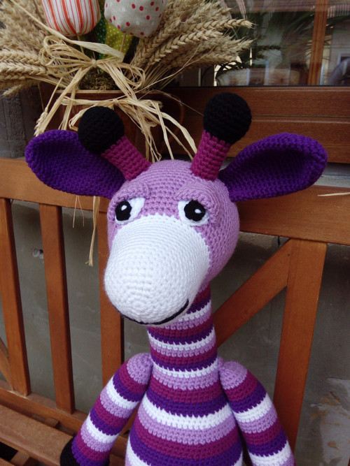 Návod - žirafa Pepina