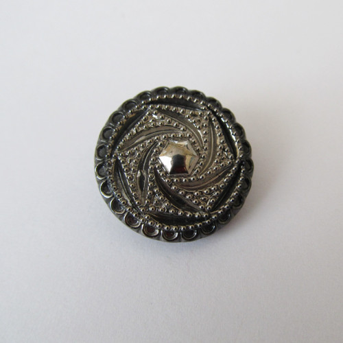 Knoflík č.17 skleněný 25 mm
