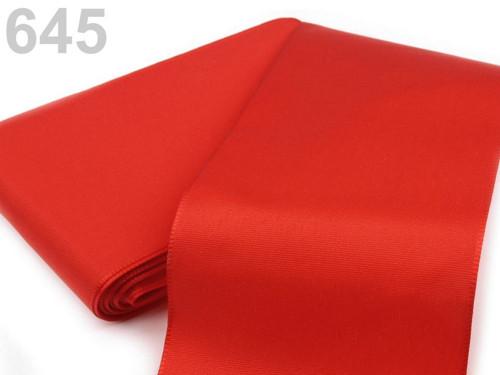 Taftová stuha 108mm (10m) - červená jahoda