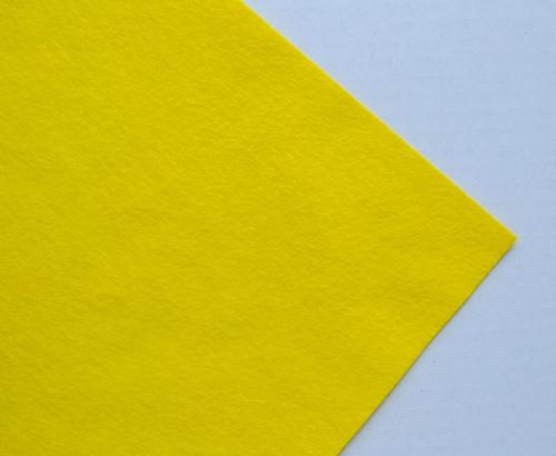 Plsť metráž žlutá (šířka 45 cm) (barva č.5)