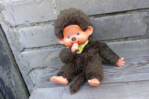Mon Chhichi...plyšová hračka mončičák
