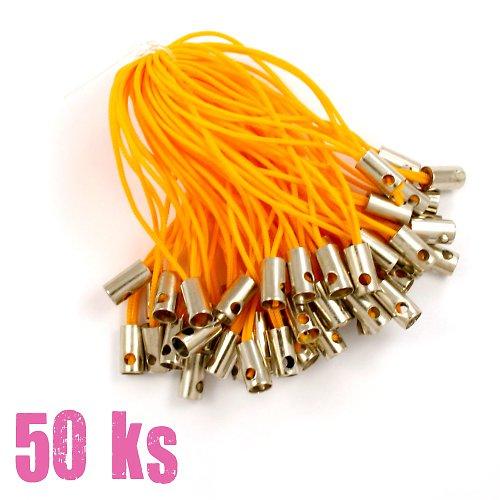 Oranžová poutka - 50 ks