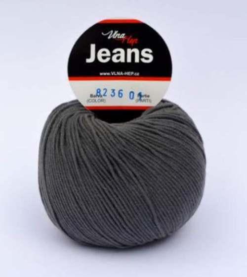 Jeans temně šedá 8236