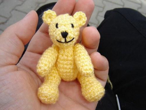 Buráček - medvídek do dlaně - návod