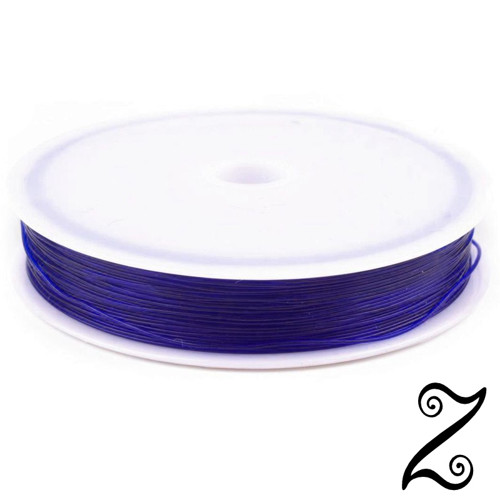 Pruženka kulatá, modrá, Ø 0,4-0,6 mm