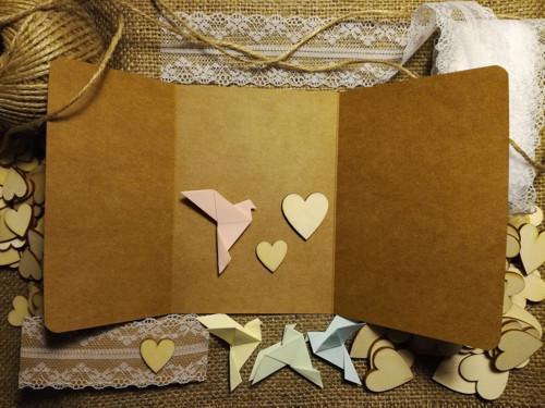 Kraft svatební oznámení - vlastní návrh