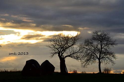 Listopadový večer - autorská fotografie