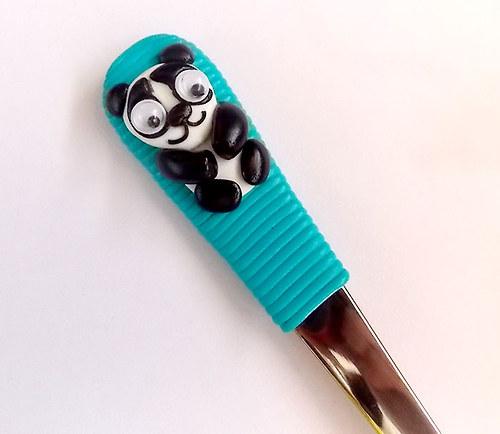 Vykulená panda