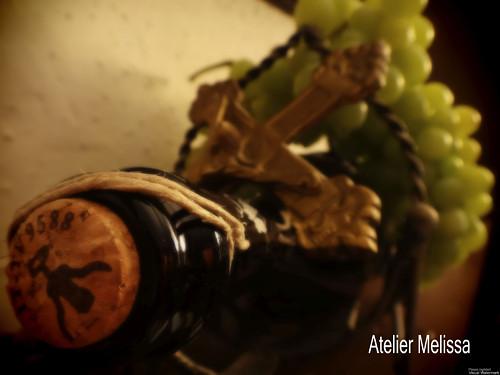 Zátiší s vínem  - Autorská fotografie A4