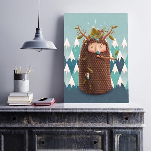 Yeti - Art print