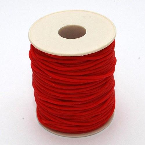 Červená šňůrka / 2 mm
