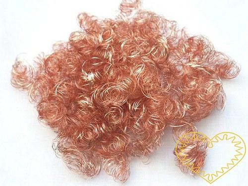 Andělské vlasy měděné - baroko 20 g