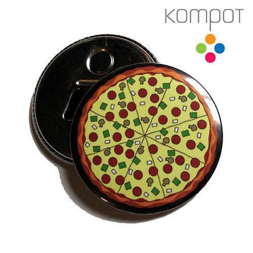 Otvírak s pizzou
