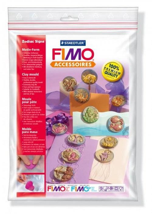Formy na Fimo / silikonové / Znamení zvěrokruhu