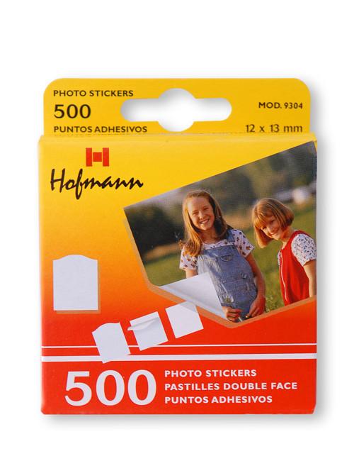 Samolepící štítky - lepidlo na fotografie