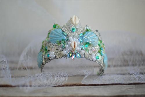 VÝPRODEJ třpytivá koruna pro mořskou pannu