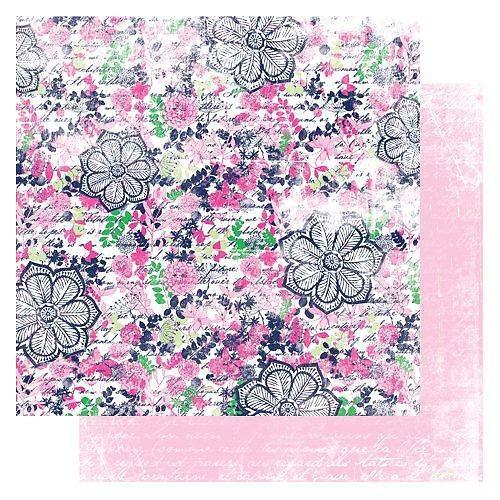 Papír Maya Floral