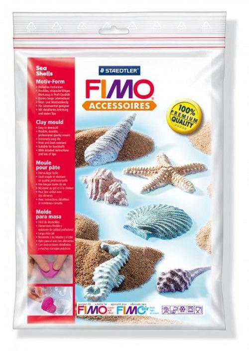 Formy na Fimo / silikonové / Mušle