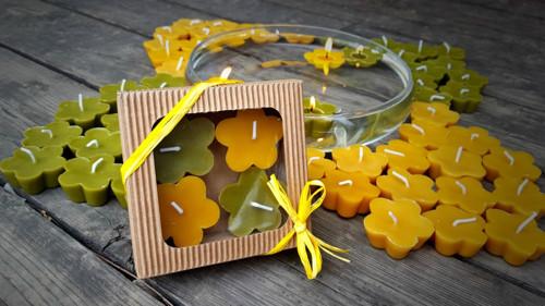 Dárkové balení 4x plovoucí květinka