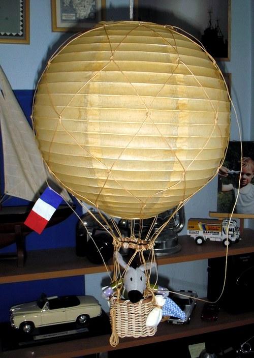 Lustr Balón - průměr 30 cm
