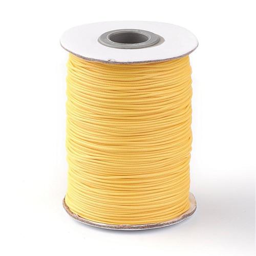 Nylonová šňůrka pr.1mm (10m) - Gold