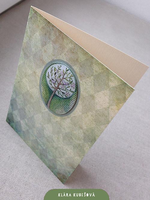Luxury card - Jarní procitnutí