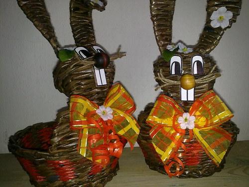 zajíček-košík