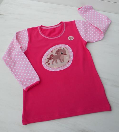 Dívčí triko s jednorožcem