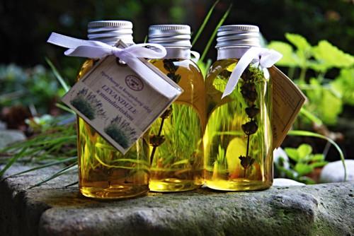 Levandule s mandarinkou - sprchový olej