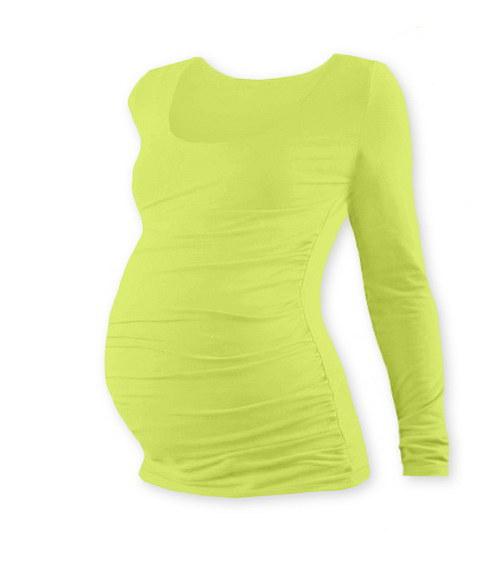 Těhotenské tričko DR světle zelené