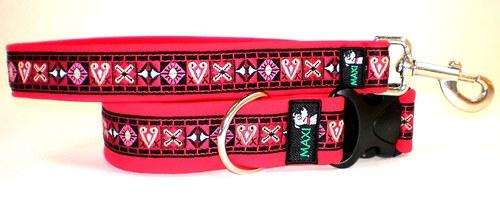 Luxusní sada Maxipes červená tkaná