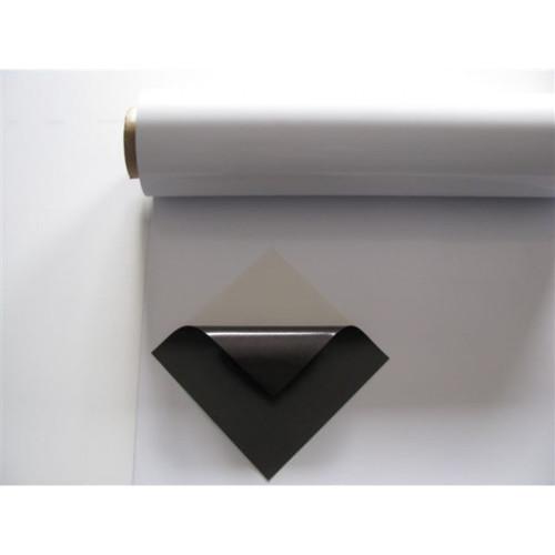 Flexibilní kovová bílá popisovací fólie