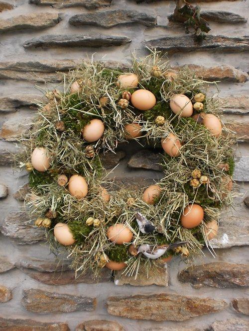 Věnec - ztracená vejce