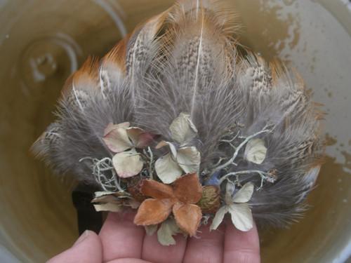 Peříčková čelenka....