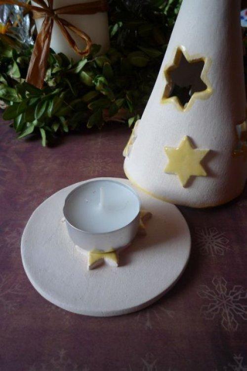 Svícínek s hvězdičkama