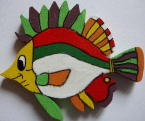magnet  barevná ryba