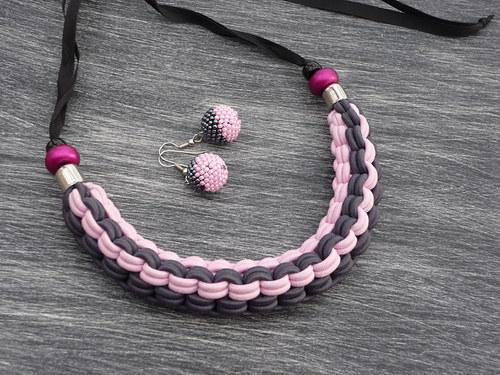 SLEVA-náhrdelník+náušnice