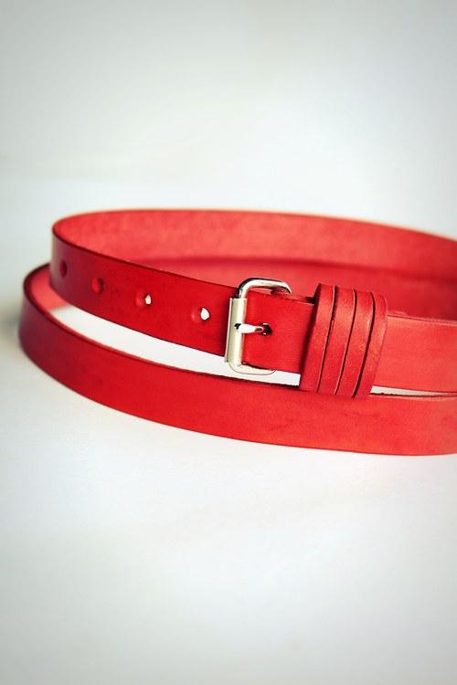 Opasek úzký (červená)