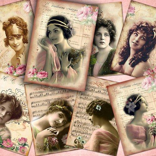 Nažehlovací obrázky - Bella- 8 kusů