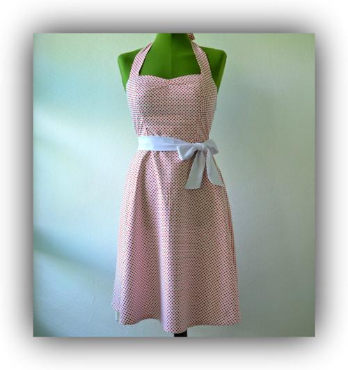 Retro šaty- Srdíčkové