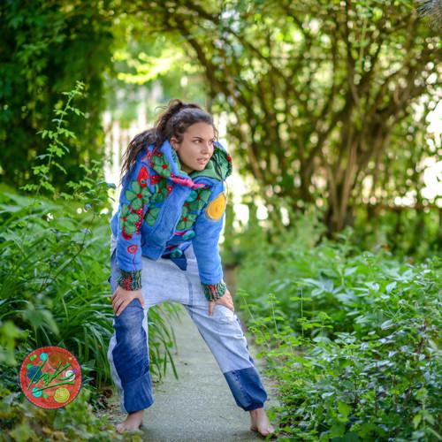 Origo mikina 7 kvety