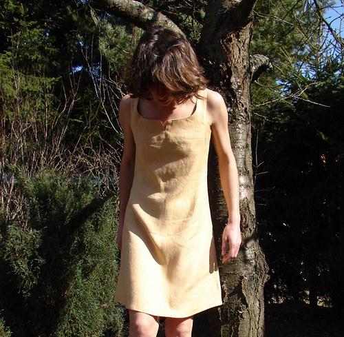 """Lněné šaty či šatovka \""""Sweet Wood\"""""""