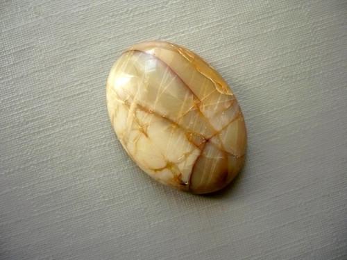 Kabošon - jaspis picasso 25 mm, č.8