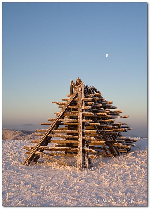 Zima na Valašsku