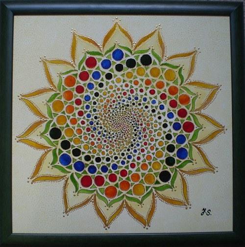 Mandala Síla meditace