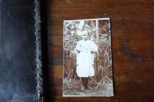 V zahradě.. kabinetní fotografie