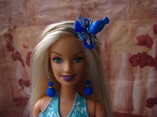 Čelenka pro Barbie nebo Monster High -  ptáček