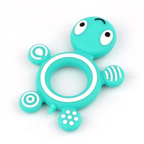 Tyrkysová želvička - silikonové kousátko